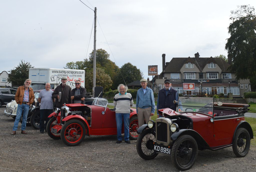 Home counties Sept 2018 pub meet - No pre-war Minors, but a Seven and a Midget