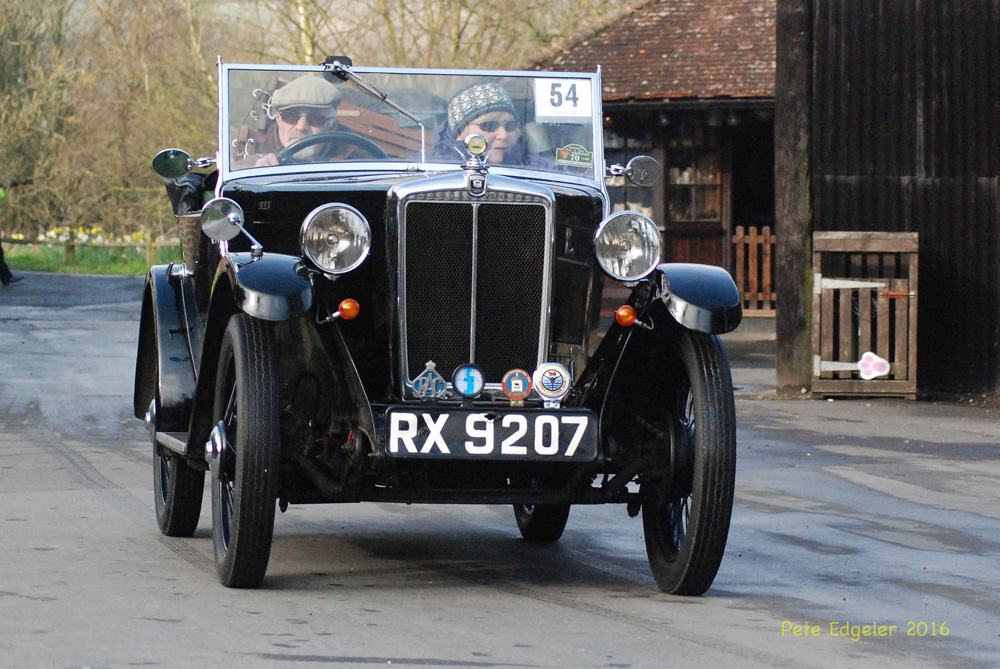 RX 9207 1932 season Minor Two-seater Amberley Sussex April 3rd 2016 Pete Edgeler ws