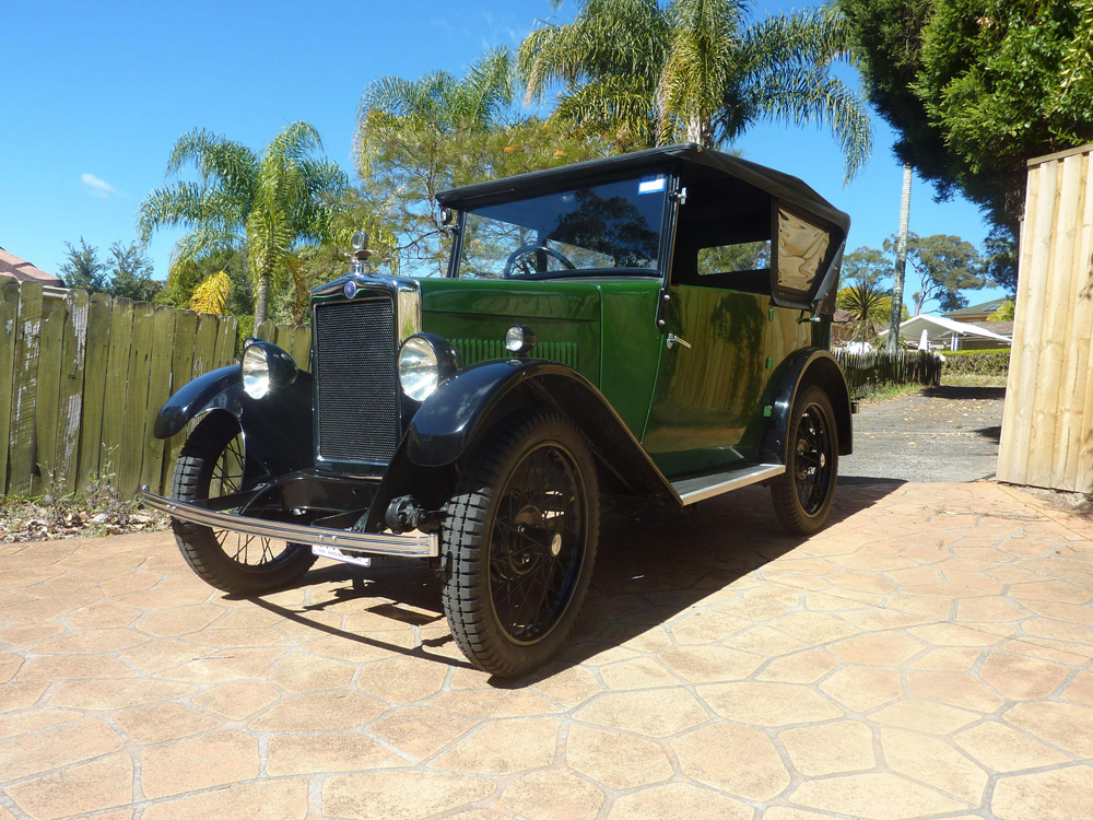 1931 Minor Tourer 67731H Alfred Beahr $A18250 NSW Just Cars Oct 2018 b ws