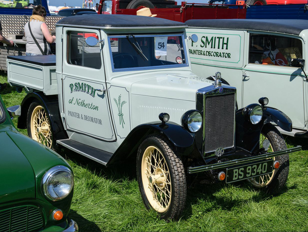 BS 9340 1930 Minor pick up ex Coachbuilt Saloon