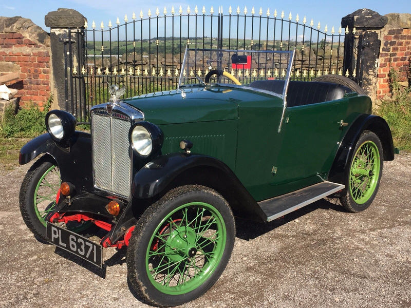 PL 6371 1931 Minor Two-seater eBay Sept 2017 a ws