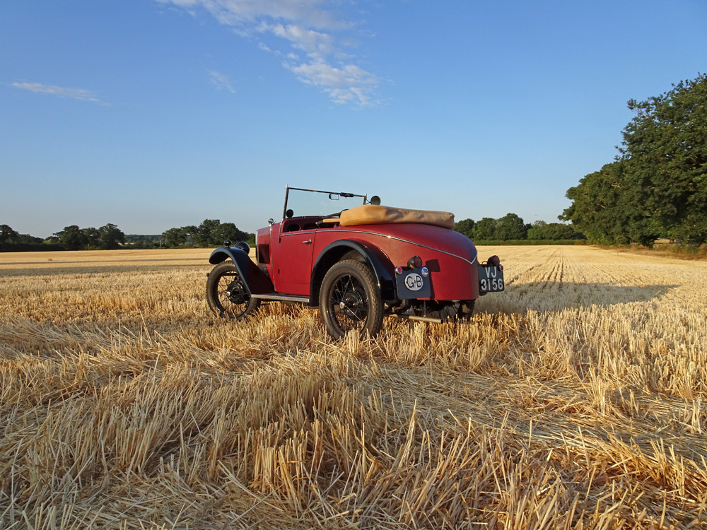 2018 POTY entry no 32 - July 13th 2018 - An early Suffolk harvest