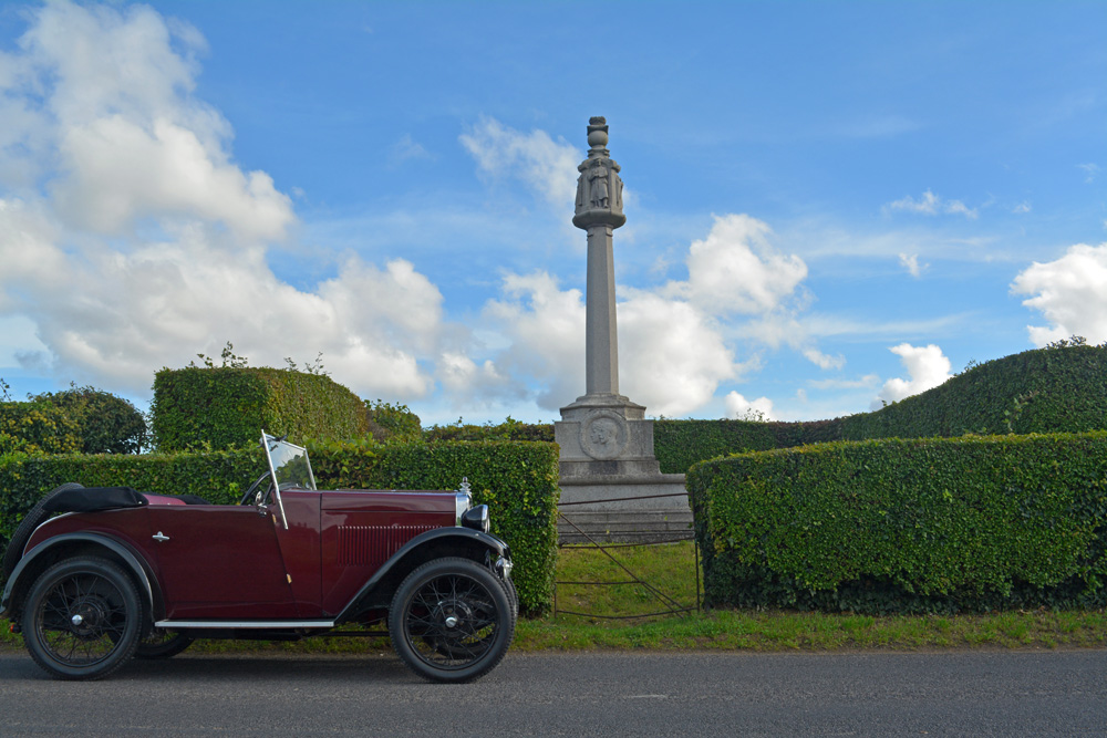 2018 POTY entry no 53 - Knowlton, Kent war memorial - A 'Be thankful' village