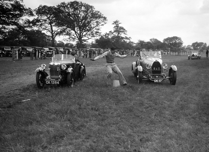GK 1824 1930 MG M Type Midget BOC Gymkhana 5th July 1931 ws