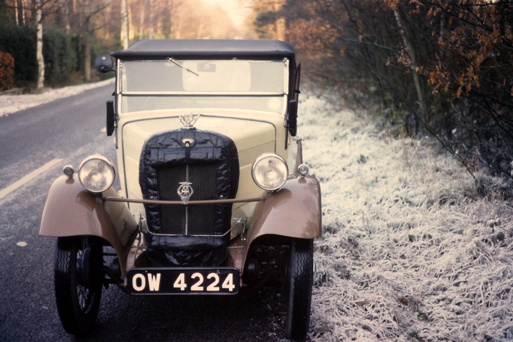 OW 4224 1934 Minor Two-seater January 1975 Paul Harris ws