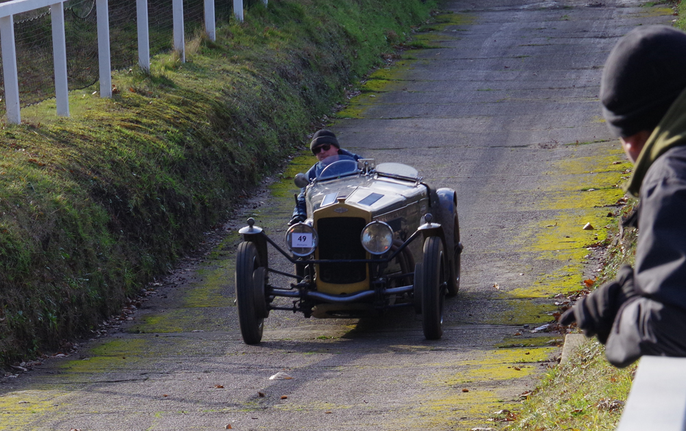 VSCC Brooklands Driving Tests 1929 Frazer Nash Super Sports SV 5033 Edward Williams ws