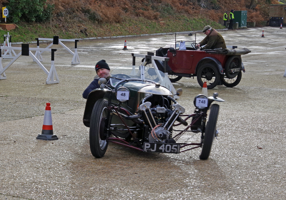 1932 Morgan  Super Sports PJ 4051 entered by Gary Caroline driven by ?Gary Caroline