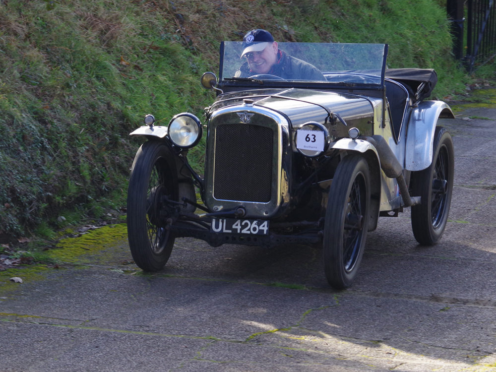 Austin Seven UL 4264 Richard Marsh