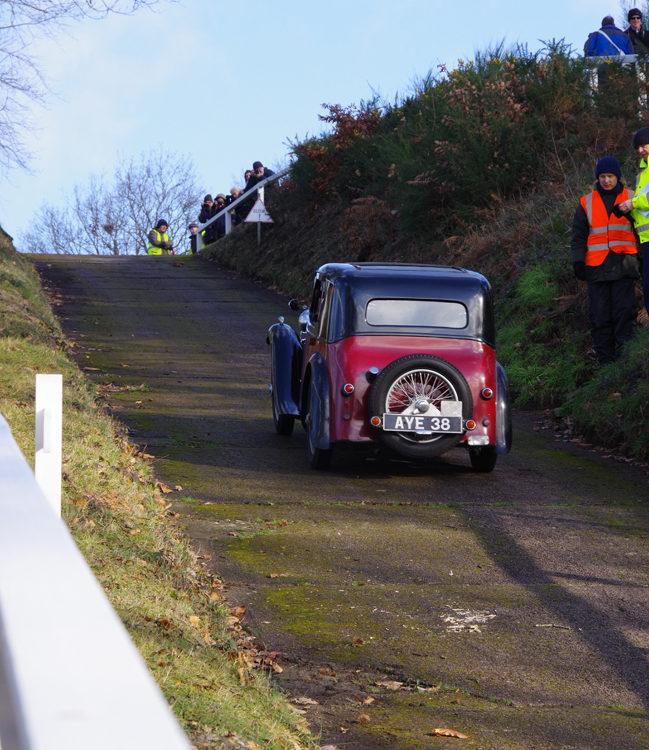 Singer Nine Coupe AYE 38 Test Hill