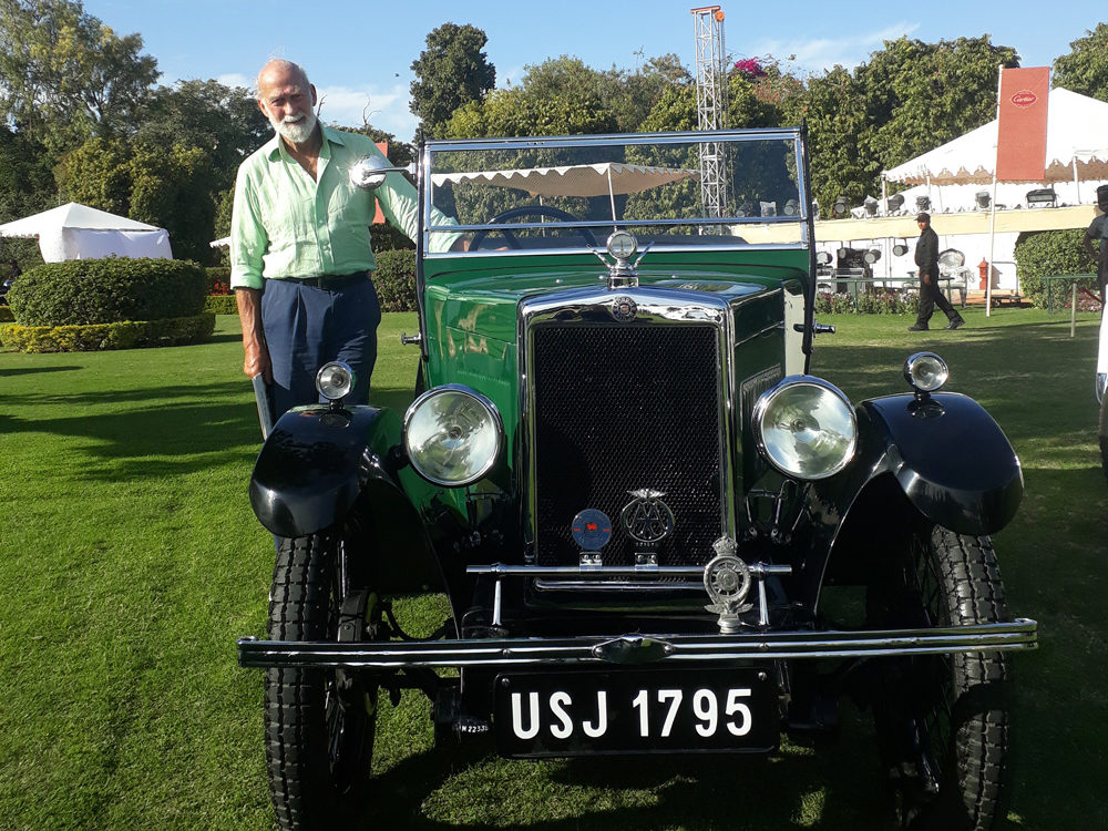 USJ 1795 Cartier Concours Jaipur 23rd-24th February 2019 HRH Prince Michael of Kent ws