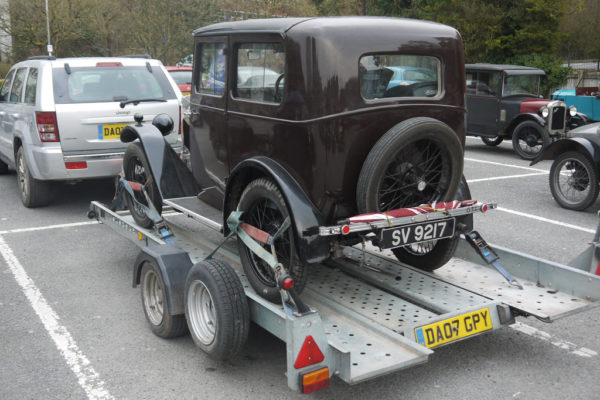 2019 Light Car Welsh 1930 Minor Coachbuilt Saloon SV 9217 (Mike Tebbett)