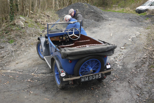 2019 Light Car Welsh MM 9385 1930 Minor Tourer (Mike Tebbett)
