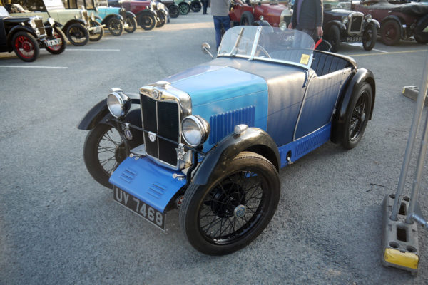 2019 Light Car Welsh UV 7468 1929 MG M Type (Mike Tebbett)