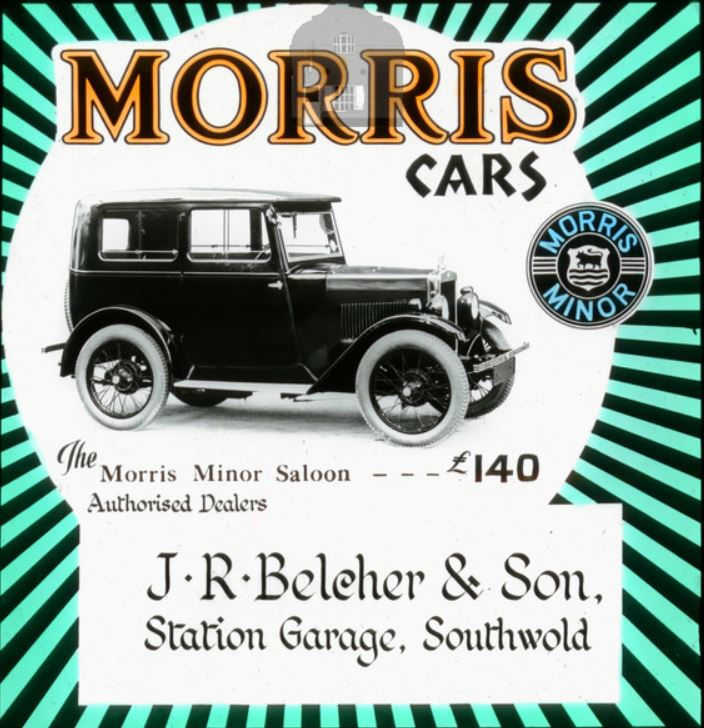 Belcher Southwold Minor ad