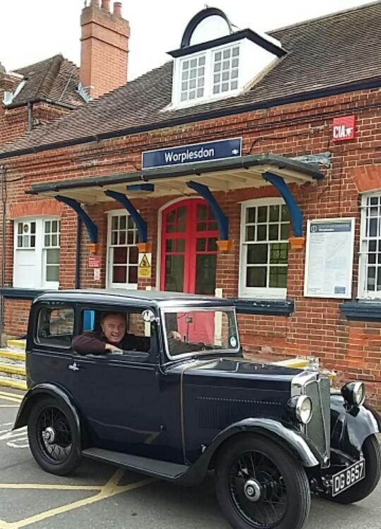 DG 8657 Drive it Day 2019 Kenneth Allen Worplesdon Station
