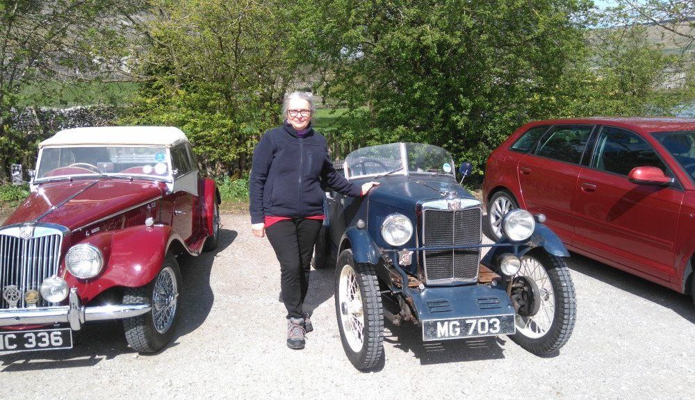 MG 703 Mrs Judd Drive it Day 2019 North Yorks