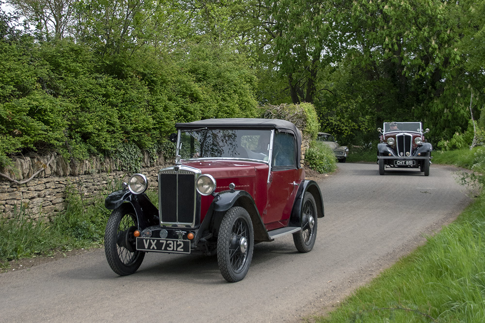 VX 7312 1932 Minor Two-seater Drive it Day 2019 Henry Harvey South-West