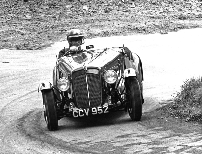 CCV 952 Morris Eight Ashley Cleave Special W A Cleave Prescott May 1964 ws
