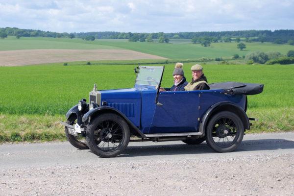 1929 Minor Tourer (Prudence) VJ 1756 Janie Maeers & Geof Wilson