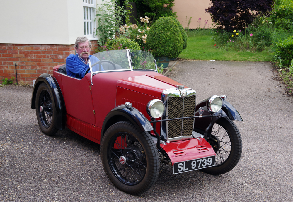 SL 9739 1929 MG Midget replica Steve Lewsley Redgrave Suffolk ws