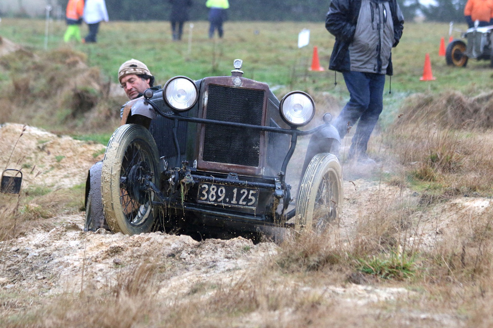 1929 OHC Minor Special 389-125 Neale Elder Balcairn Trial July 2019 via John McDonald ws
