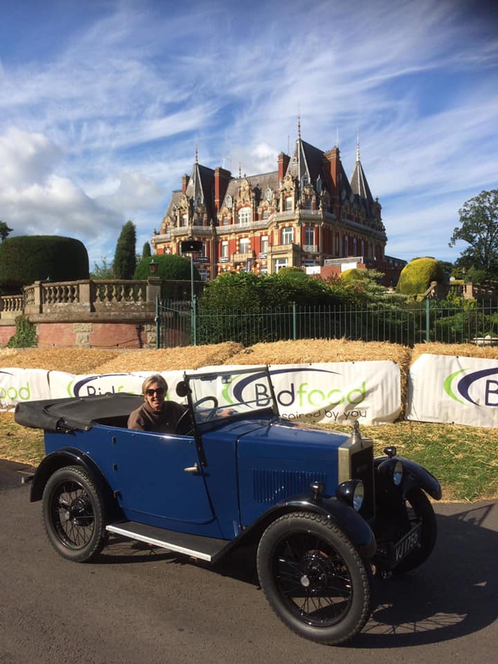VJ 1756 at Chateau Impney with Janie Maeers July 2019