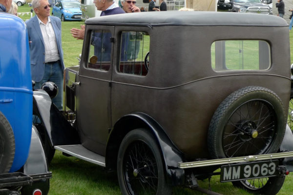 1929 Minor Fabric Saloon MM 9063 Photo Peter Brock