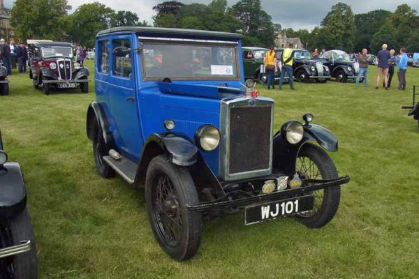 WJ 101 1930 Minor Coachbuilt Saloon Thoresby 2019 John Bateson photo Martin Gregory