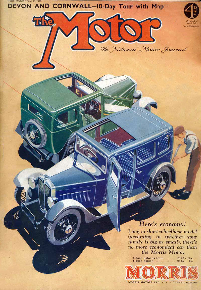 Motor cover June 1933 ed