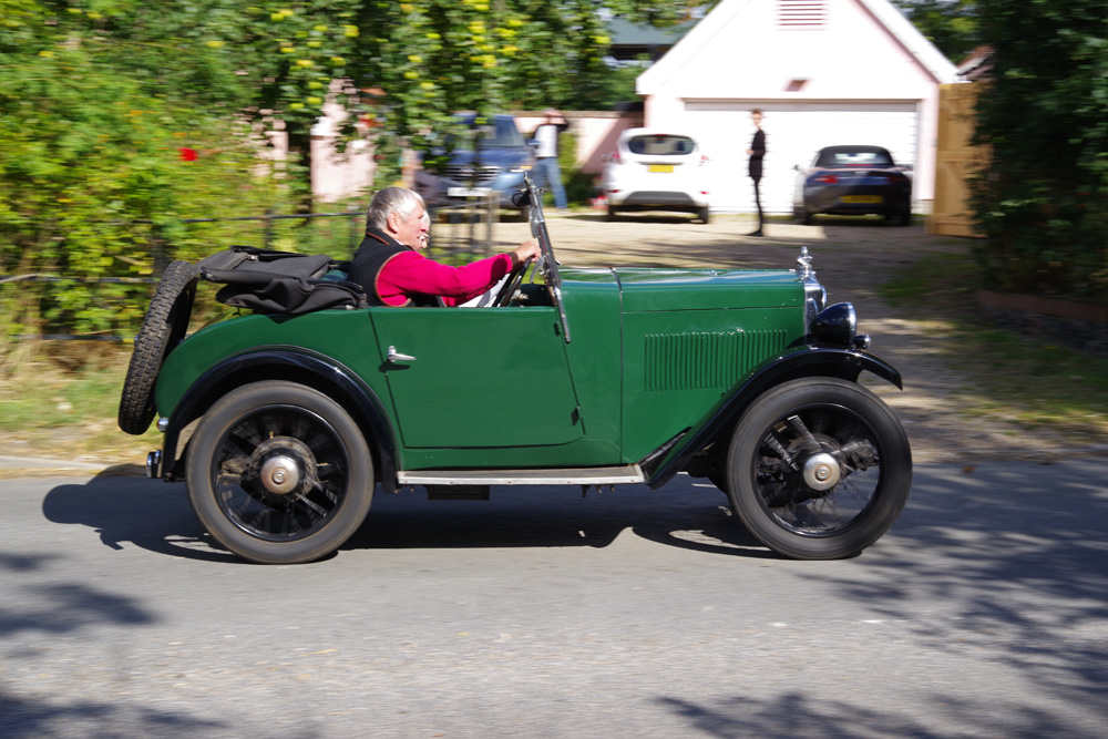 Two breweries run WD 4459 OHC engined 1932 Minor Two-seater