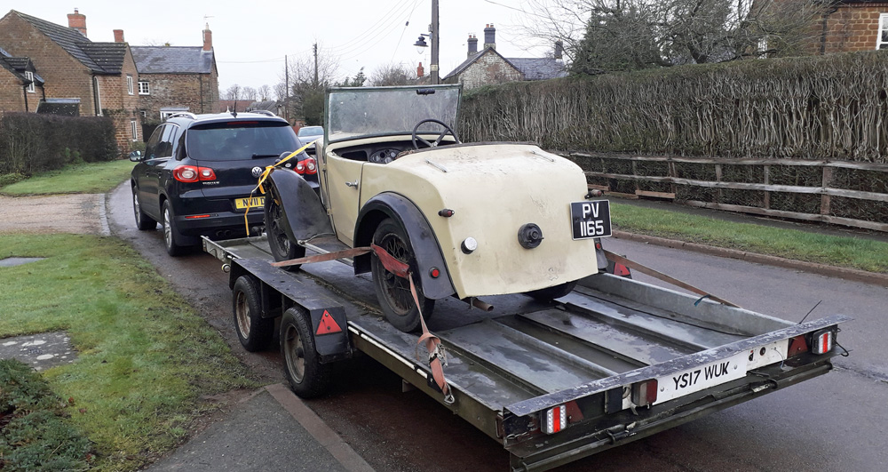 PV 1165 1934 Minor Two-seater Richard Hartley December 2019 a ws
