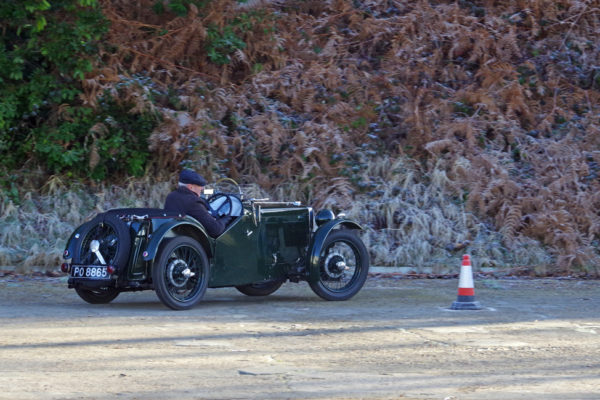 VSCC NY Driving Tests 2020 Brooklands 1930 MG J2 PO 8865