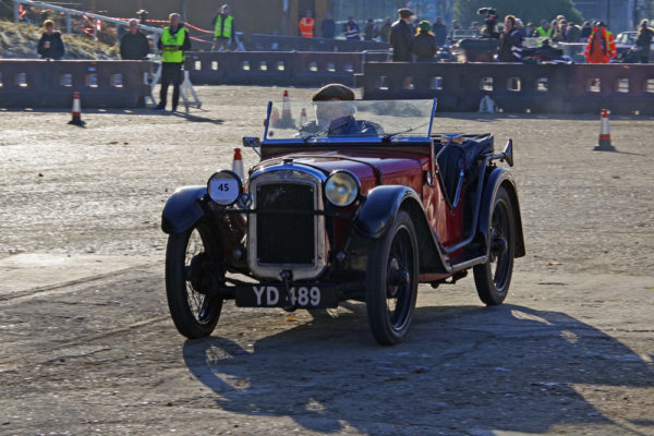 VSCC NY Driving Tests 2020 Brooklands 1931 Austin Seven Ulster