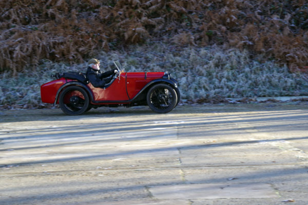 VSCC NY Driving Tests 2020 Brooklands Austin Seven Ulster