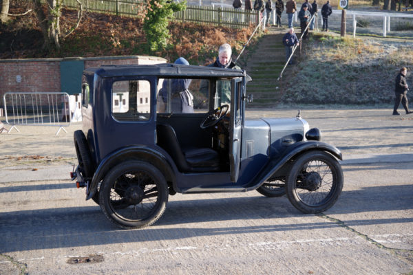 VSCC NY Driving Tests 2020 Brooklands Austin Seven Top Hat