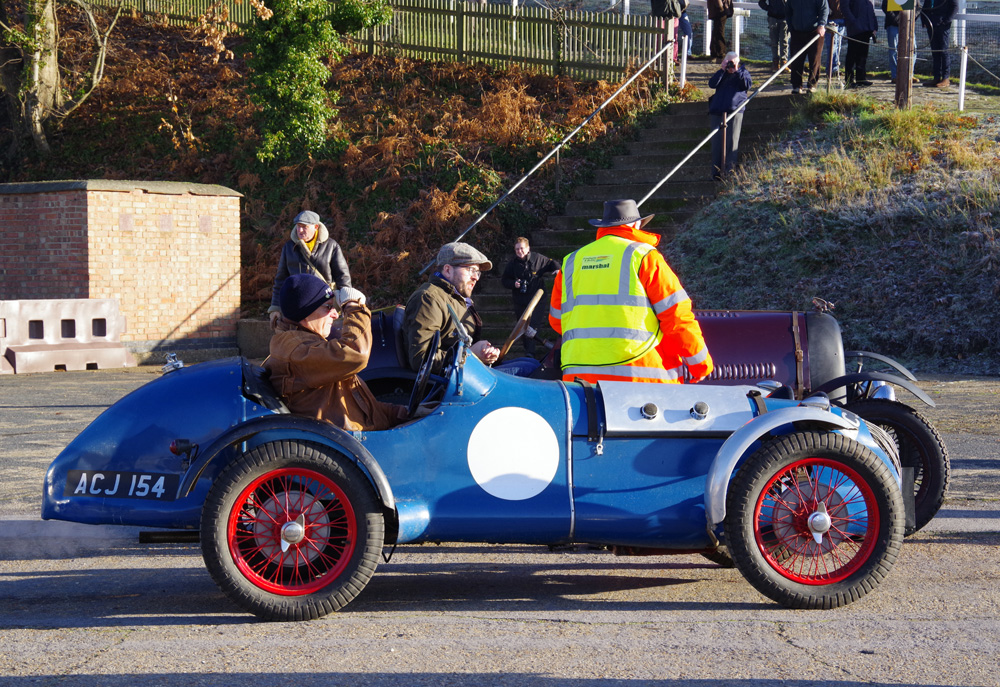VSCC NY Driving Tests 2020 Brooklands Hornet Special