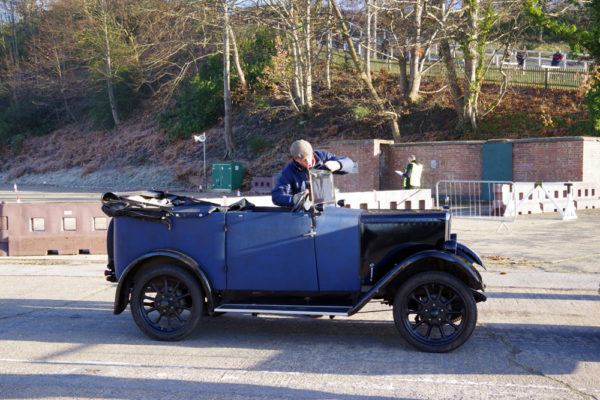 VSCC NY Driving Tests 2020 Brooklands Jowett Tourer