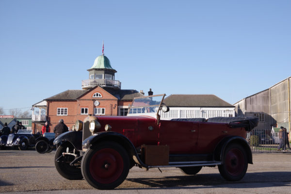 VSCC NY Driving Tests 2020 Brooklands Singer competitor no 5