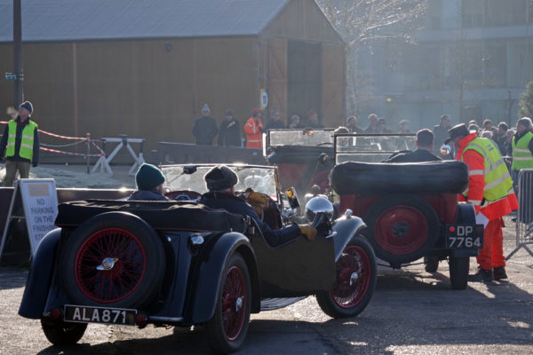 VSCC NY Driving Tests 2020 Brooklands section queuing
