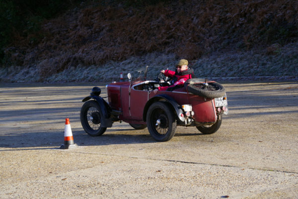 VSCC NY Driving Tests 2020 David Rolfe VU 7908 MG Midget-Riley Special
