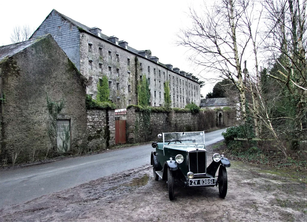 ZV 83851 1932 Minor Two seater Joe Rayner Grubbs Mill Castlegrace Estate Clogheen Tipperary Jan 2020