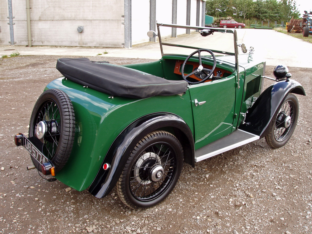 UD 5774 1933 Minor Two-seater The Motor Shed Bicester £15K Feb 2020 b ws