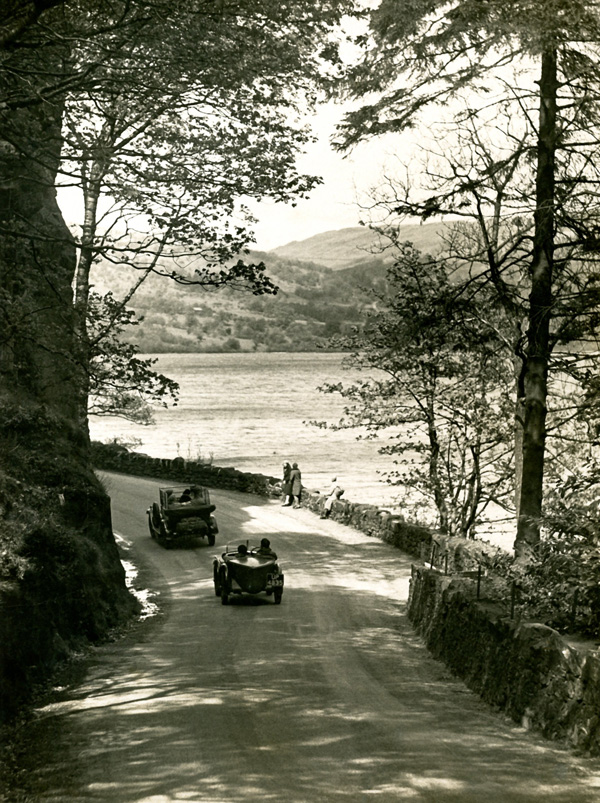 UP 4835 1930 MG M Type Midget Stybarrow Crag Ullswater Fox Photos Fleet Street ws