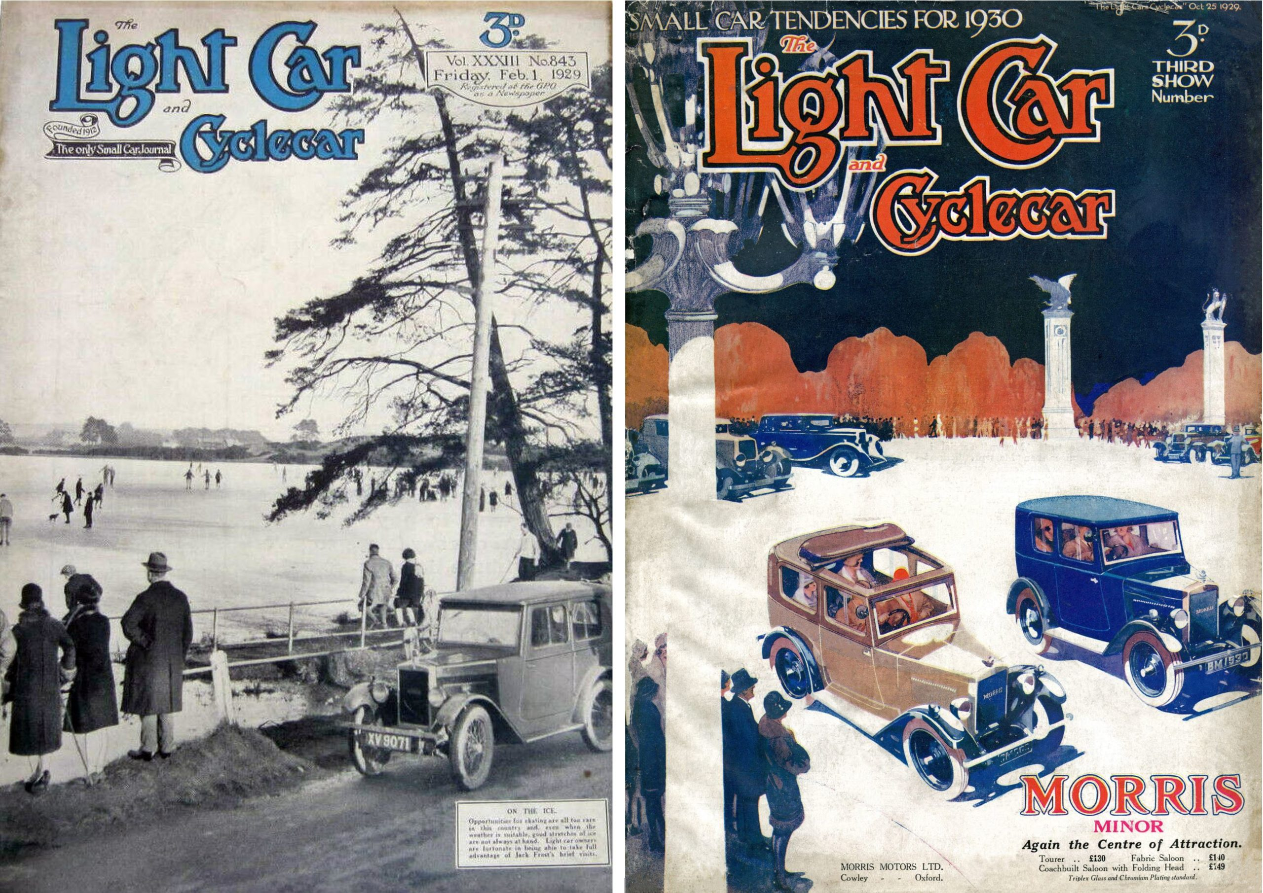Light Car covers 1929