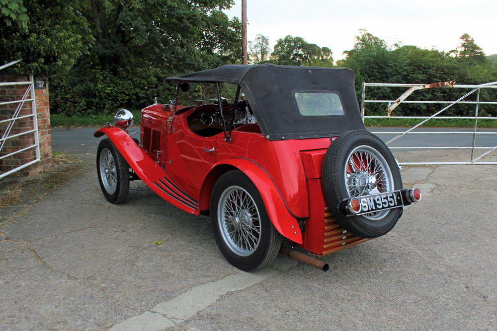 1932 Wolseley Hornet March Special SM 9551 £40K October 2020 b ws