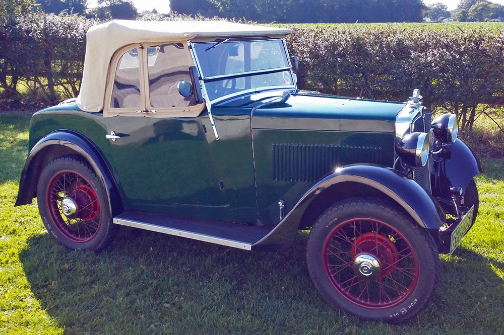 BPB 357 1934 Minor Two seater ed ws