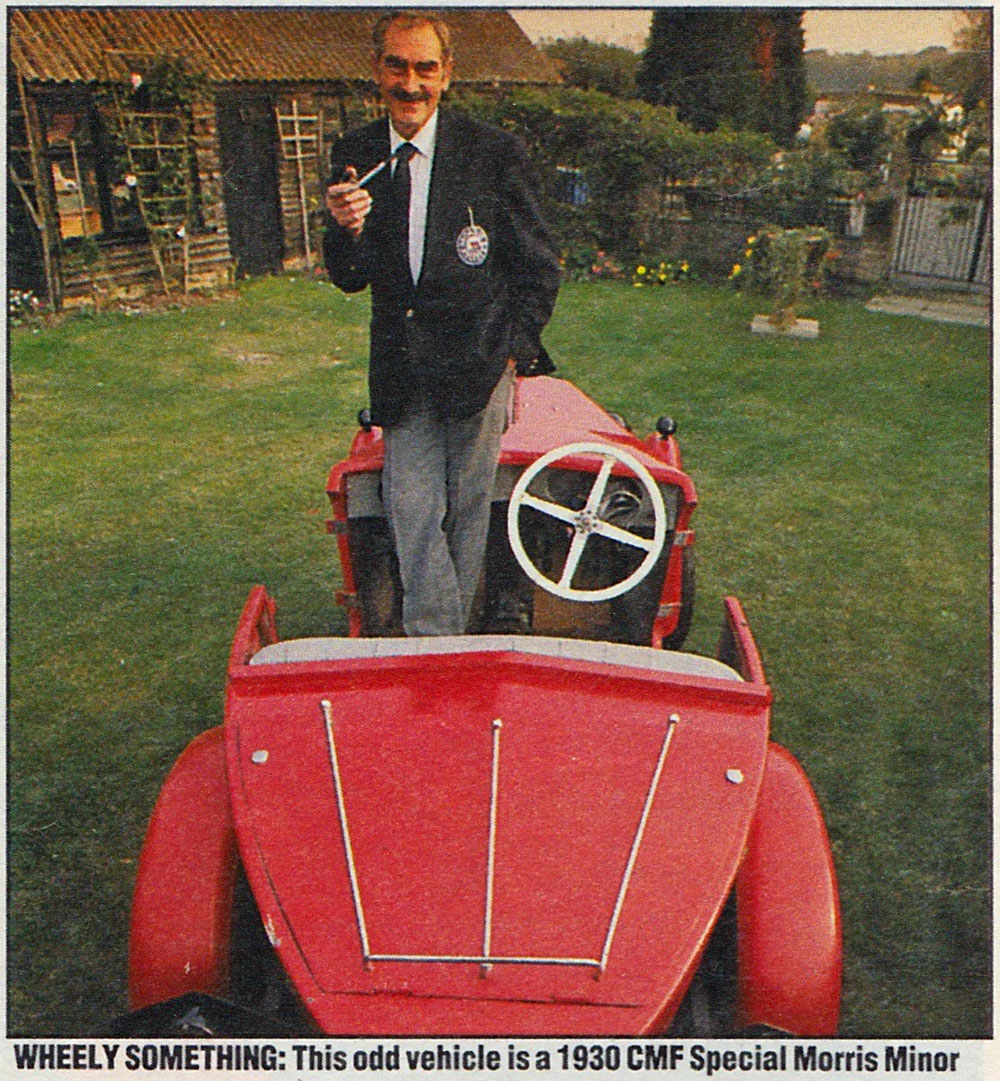 Harry Edwards With CMS Special Auto Express 1990 ed ws