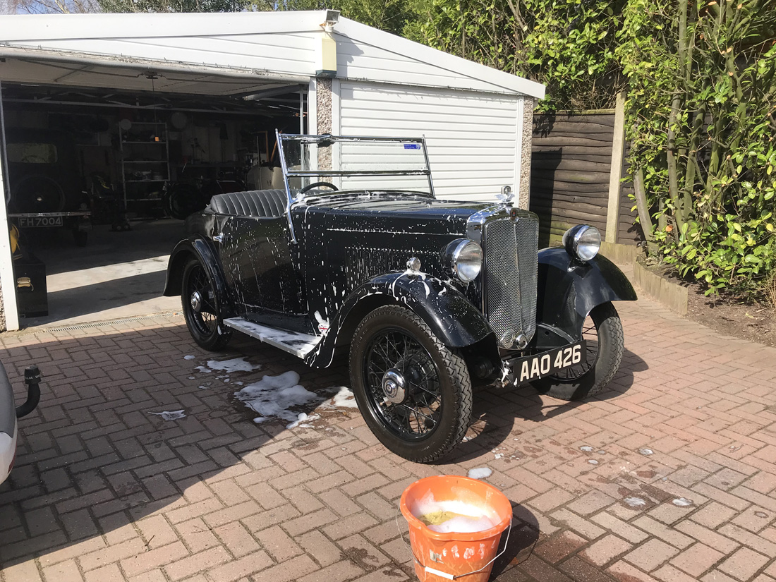 AAO 426 1934 Minor Two-seater Adrian Tyldesley March 2021 ws