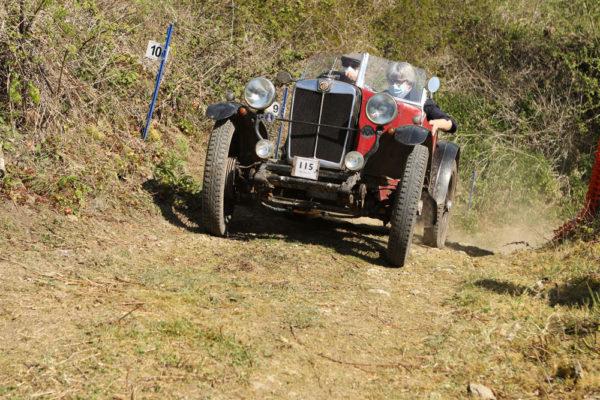 Herefordshire Trial 1931 MG Midget-Riley Special David Rolfe VU 7908 (Phil Jones) b