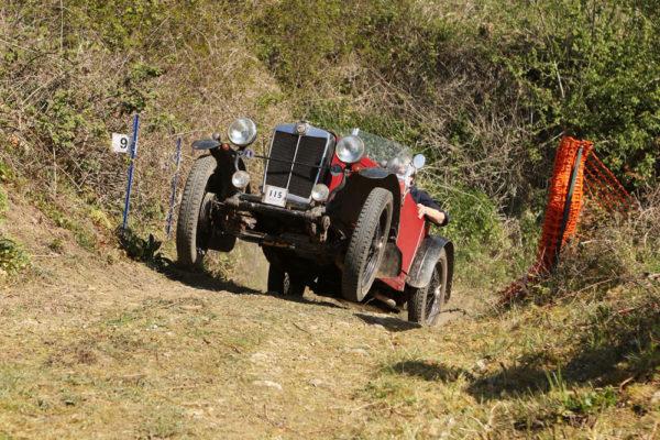 Herefordshire Trial 1931 MG Midget-Riley Special David Rolfe VU 7908 (Phil Jones) c